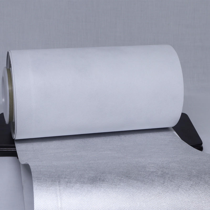 Vacuum Metallized metallized film nonwoven from manufacturer for advertising-3