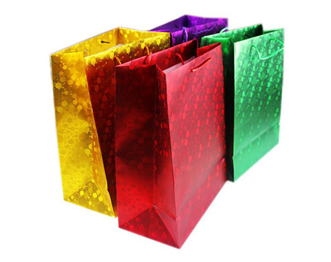 Cailong pet holographic window film bulk production for food-10