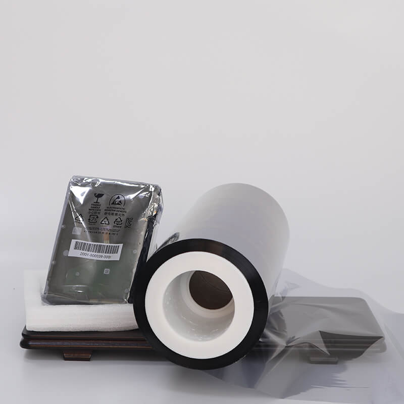 High barrier metalized mylar semimetallized type for decorative materials-2