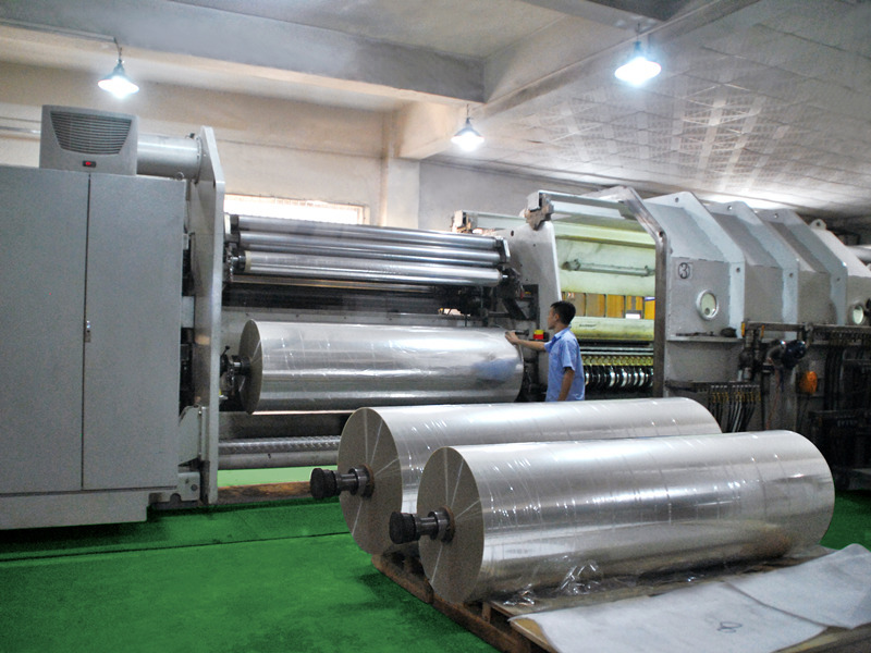 Cailong Video -  Metallizer production line from Germany
