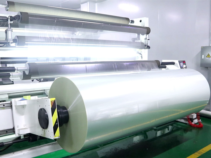 Cailong Video - Slitting machine for metallized film