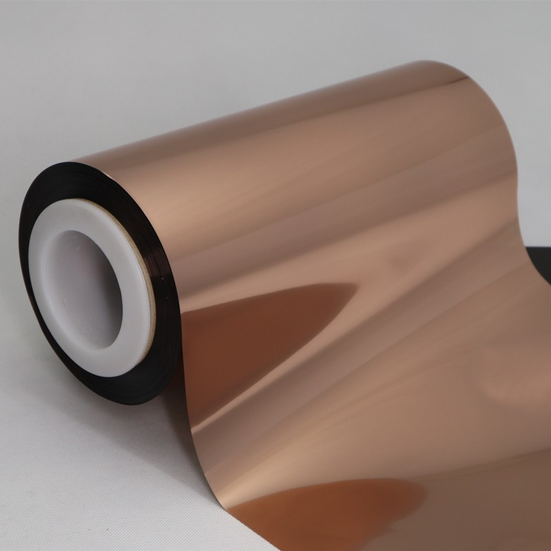 Cailong excellent Copper Metallized PET Film for kids used for stickers