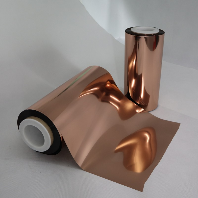 excellent physical properties Copper Metallized PET Film film workwear for daily chemicals-4