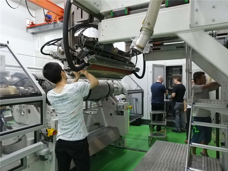 Dafu successfully completed the upgrade of PC/PMMA composite board production line from German