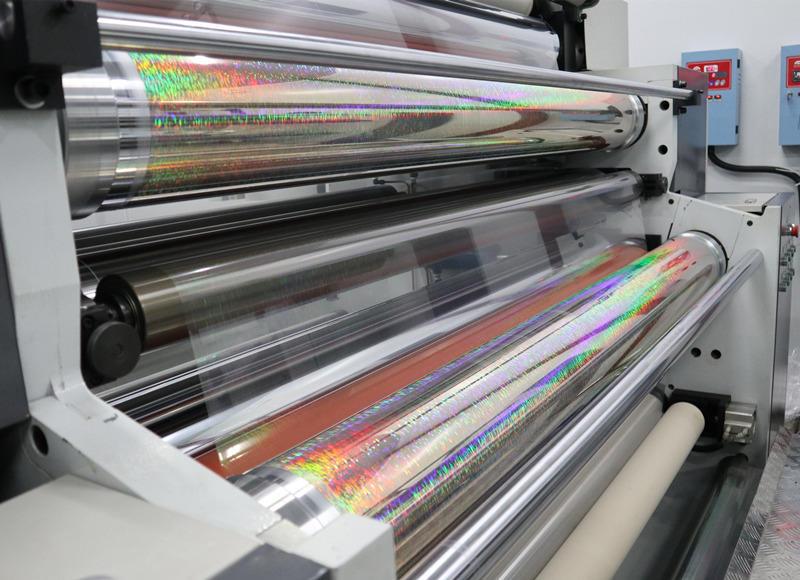 Cailong superior transparent holographic film free design for Tinplate-1