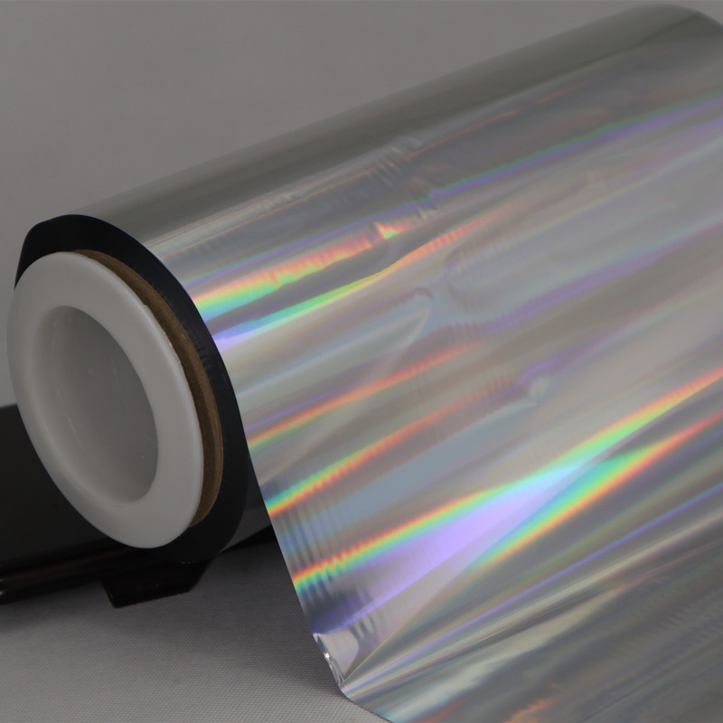 Cailong film transparent holographic film order now for Tinplate-3