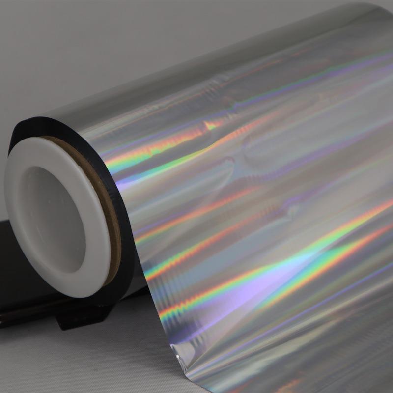 Cailong superior transparent holographic film free design for Tinplate-3