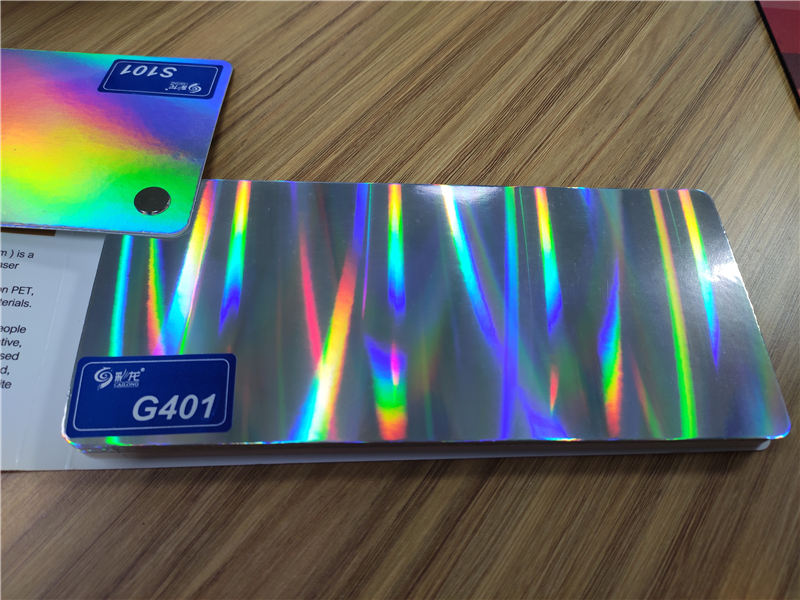 Cailong superior transparent holographic film bulk production for material-1
