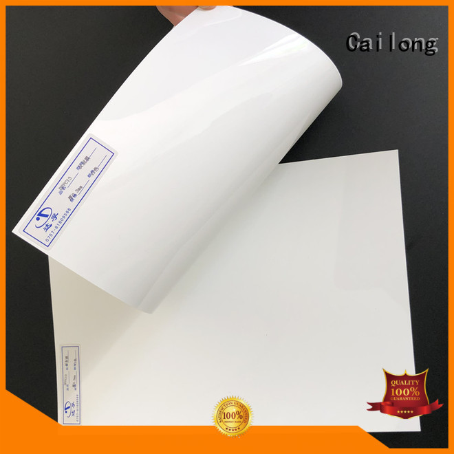 Cailong sheetfilm polycarbonate plastic sheets from China for electronic appliances