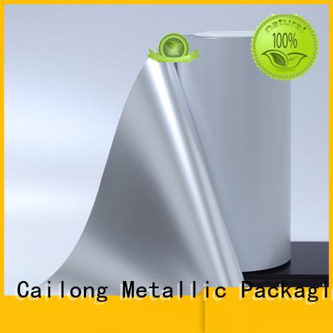 Vacuum metallic film enhanced popular used for stickers