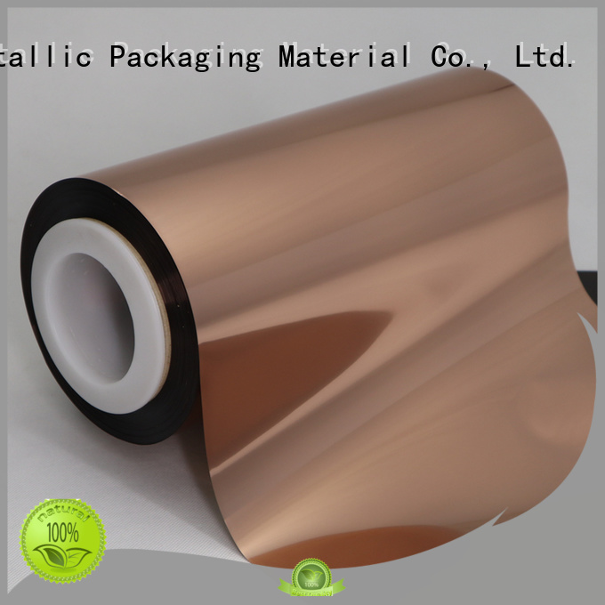Cailong pet Copper Metallized PET Film from China for medicine