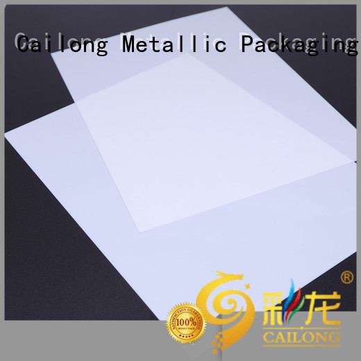 Cailong Reflective polystyrene sheets in different color for optical lenses
