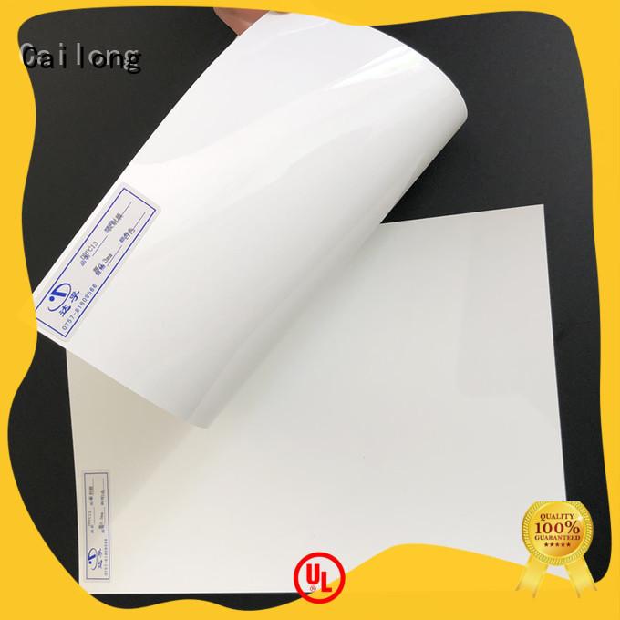 Cailong polycarbonate sheet design grade for optical lenses