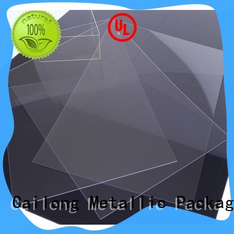 Cailong black polycarbonate material for optical lenses