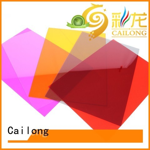 filmssheet transparent polycarbonate sheet from China for LED lighting Cailong