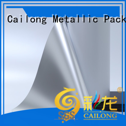 coating metalized pet film pet for product Cailong