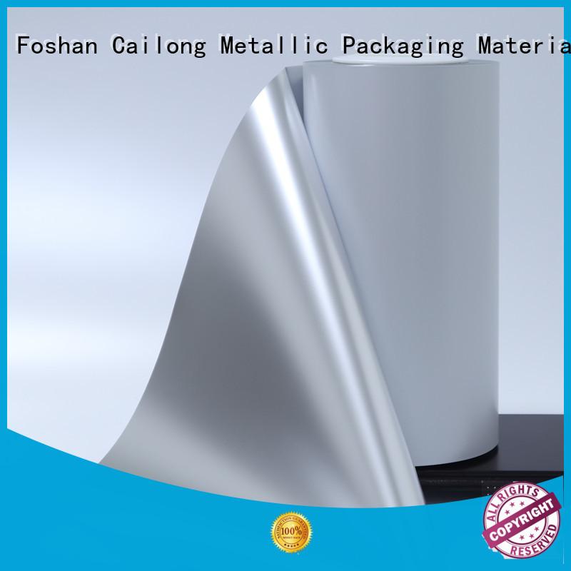 High flex crack resistance metalized mylar vmpetjq marketing for cooked food