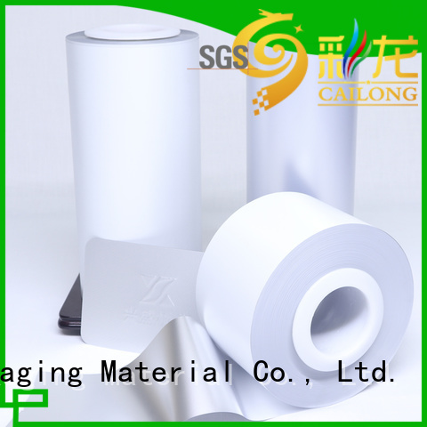 Cailong environmental  pvc film widely-use for printing