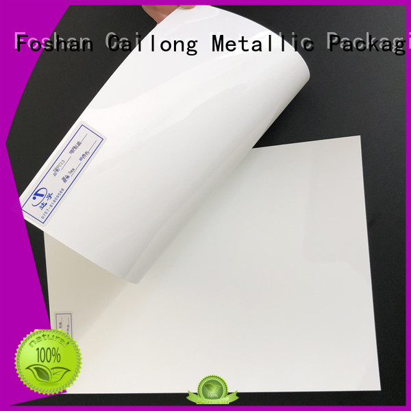 Cailong Opaque Color polycarbonate film roll textured for sporting goods