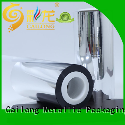 Cailong Good Thermal Insulation metalized mylar vmpetjq for shopping bags
