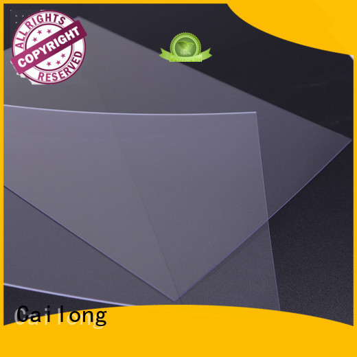 flexible polycarbonate sheet pcpmma for sporting goods Cailong