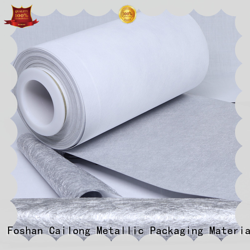 Cailong call metalized plastic sheet at discount used for printing