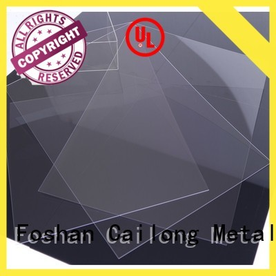 Cailong Optical Transparent transparent polycarbonate sheet with good price for automobiles