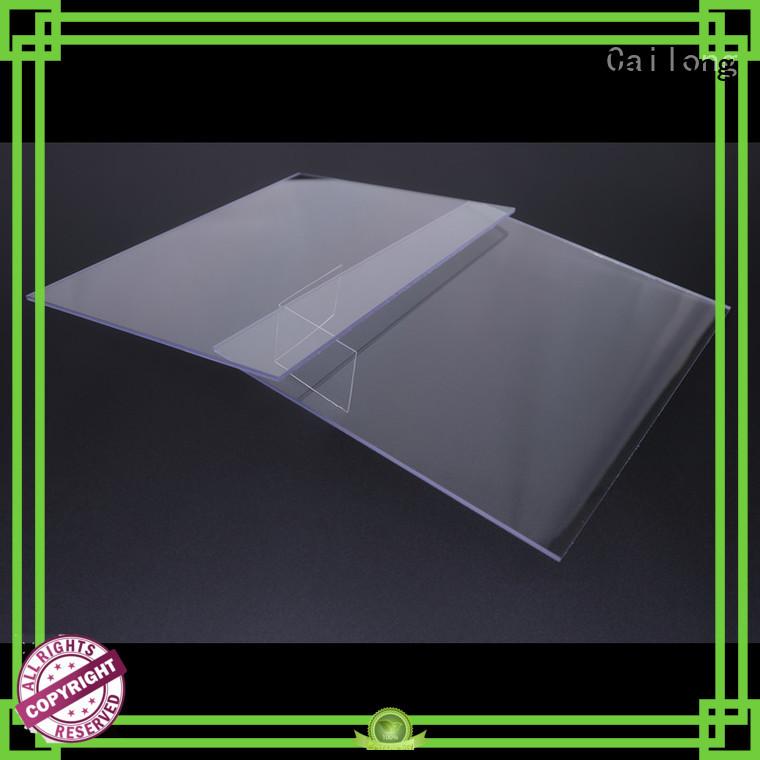 black polycarbonate sheet design retardant for automobiles Cailong