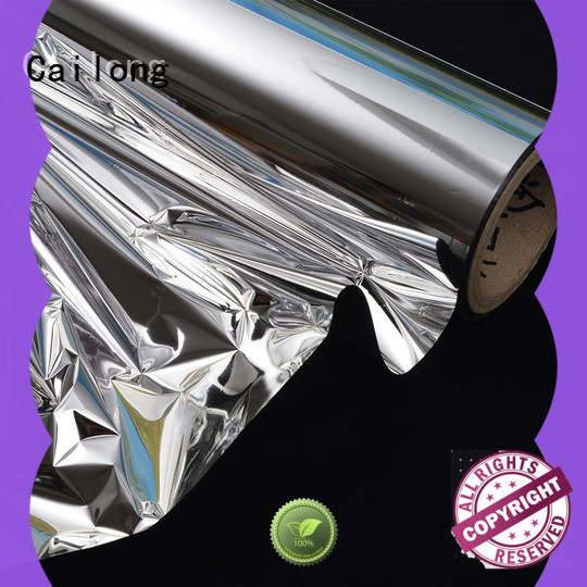 Cailong metalized plastic factory price for medical packages