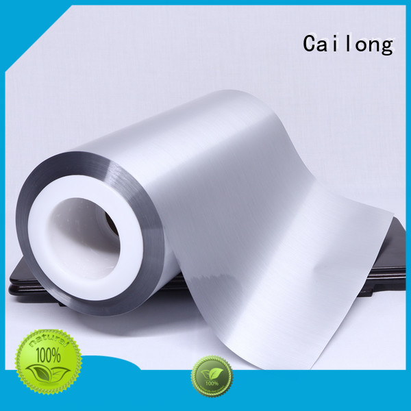 Cailong thin metallised film owner for decorative materials