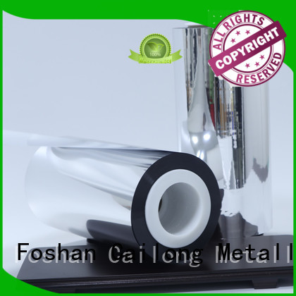 matte metalized foil China for cooked food Cailong