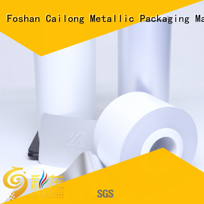 Cailong effective plastic film widely-use for electronics