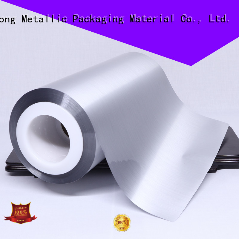 Cailong Vacuum metalized pet film half used for stickers
