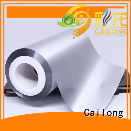Vacuum metalized bopp film price ffor Decorative Cailong