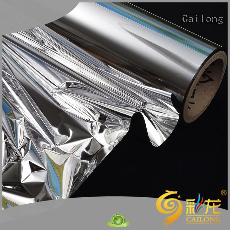 metallised paper bulk production for bag producing Cailong