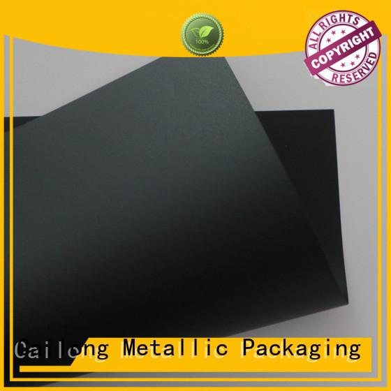Cailong filmsheet polyester film sheets in different color for LED lighting