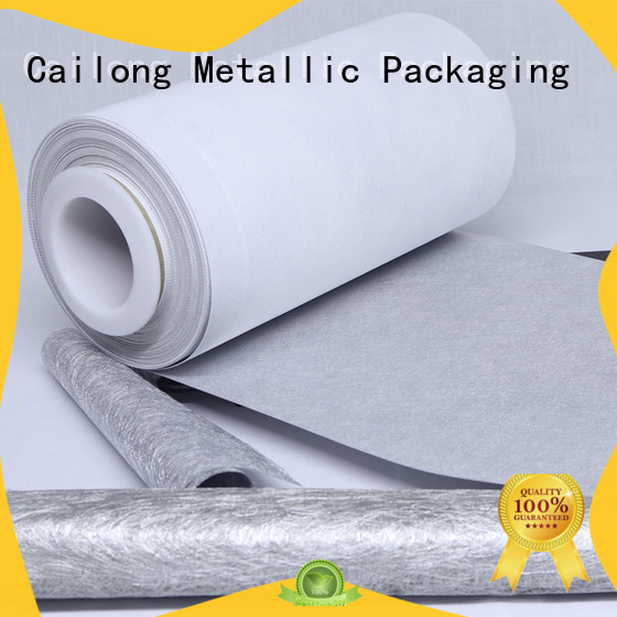 Cailong Vacuum Metallized metalized pvc film for medical packages
