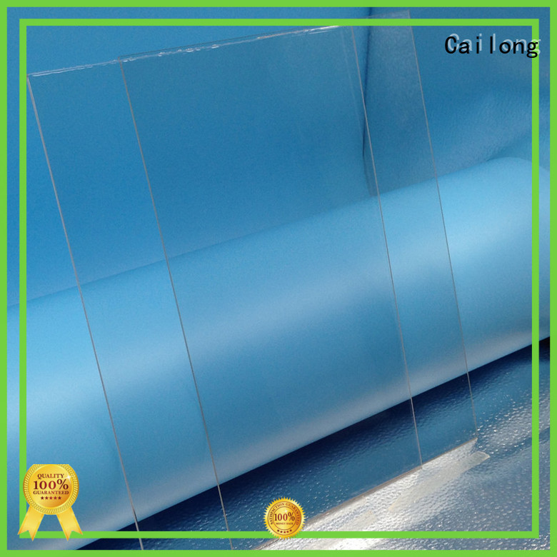 Cailong Reflective clear plastic sheets for optical disk substrates