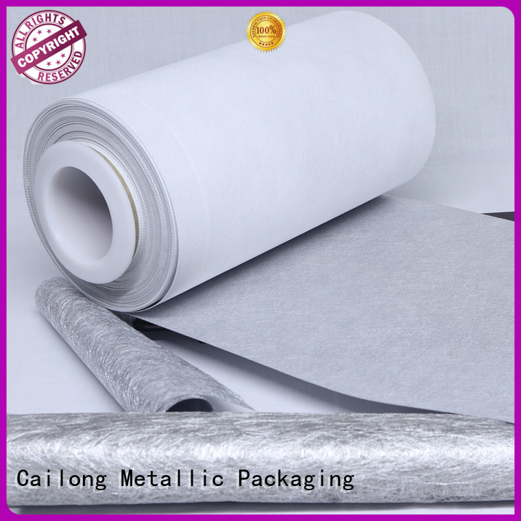 grade metallized plastic film call for cosmesics Cailong