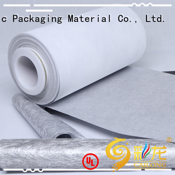 Cailong Multiple Aluminum metalized plastic pet used for labels