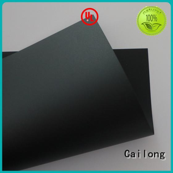 pc film retardant for sporting goods Cailong