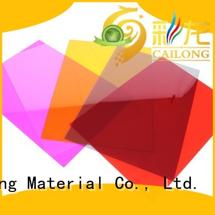 Cailong retardant polycarbonate material factory for aerospace