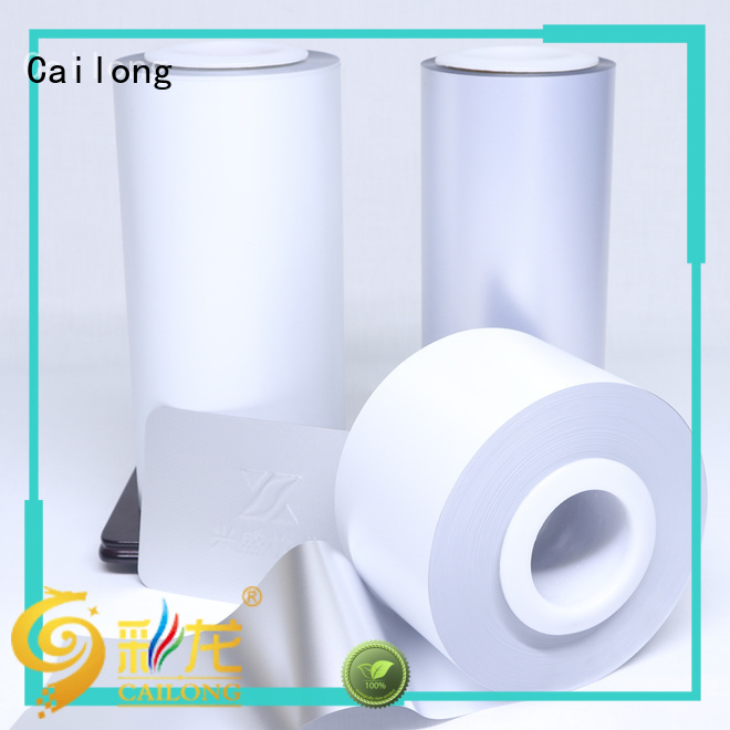 colored window film white for packing foor Cailong