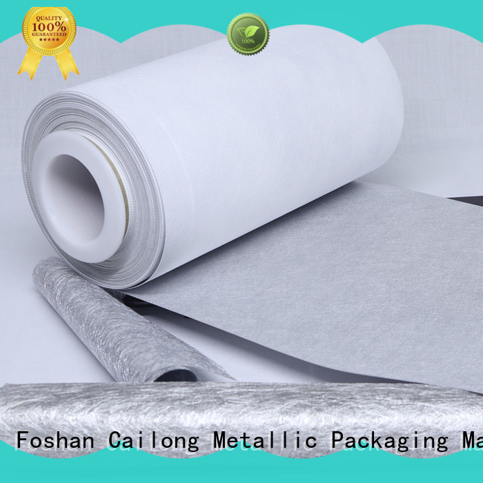 Cailong pvc metal film from manufacturer for advertising