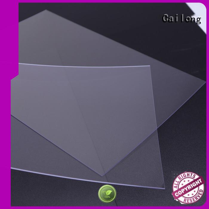 sheetfilm polycarbonate sheet design wholesale for electronic appliances Cailong