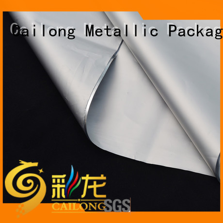 Cailong metalized plastic film nonwoven for medical packages