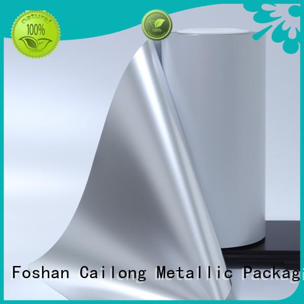 Cailong vmpetgz metallised film for-sale for product