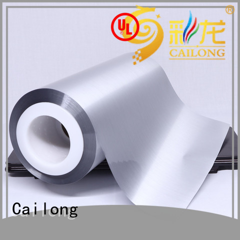 anti metalized film pet used for stickers Cailong