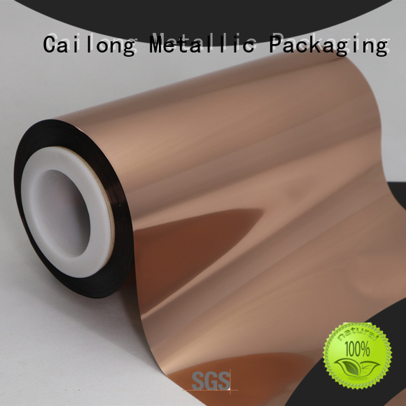 best Copper Metallized PET Film metallized with good price for medicine