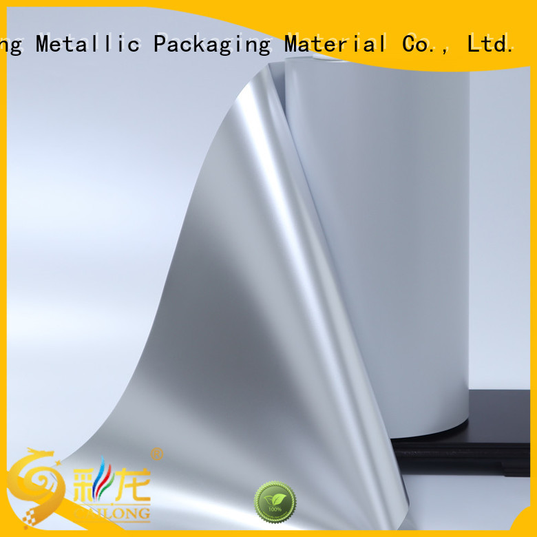Vacuum Metallized Matte PET Film